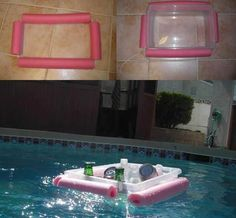 Done and Done.... floating cooler.