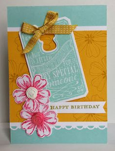 Stampin' Up Flower Shop, Pansy Punch, Chalk Talk, Stampin' Up Blossoms Simply Pressed Clay Molds