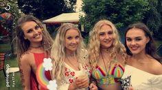 Perrie, Katherine, Ellie and Caitline ♥