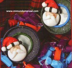 Mimundomanual: Porcelana fría Navidad paso a paso