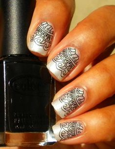 Stamp Nail Art Archives :: Nail Art Design From CoolNailsArt
