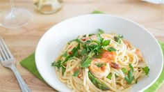 Shrimp Linguine with White Wine, Tomatoes and Asparagus  - TODAY.com