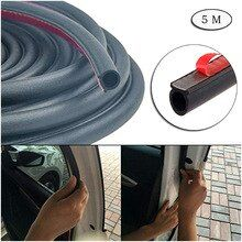 Car Door Rubber Sealing Strip Self Adhesive Hollow Truck Motor Door Cover Trunk Windshield Soundproof Engine Cover 5 M Cb015 Dengan Gambar