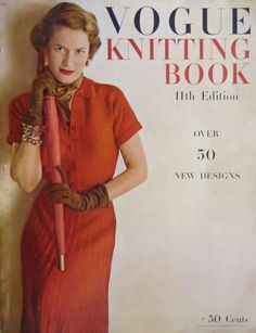 Vintage 1948 VOGUE Knitting Book 11th Edition by vintagememory