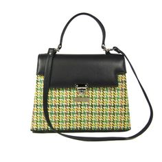 Kelly Houndstooth Bag By Karen Wilson Hand Bags