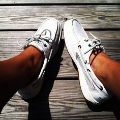 """Pinner said """"I just bought the 2nd pair of these sperry's. they are my fav! I would recommend to ANYONE!!!!!"""""""