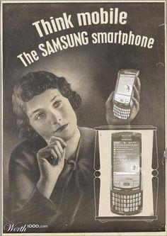 Samsung mobile vintage láminas vintage винтажные плакаты, пинап рисунки y п Vintage Advertising Posters, Vintage Advertisements, Vintage Posters, Funny Advertising, Product Advertising, Advertising Ideas, Vintage Design, Vintage Prints, Pub Vintage