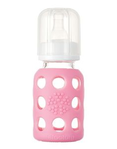 Lifefactory - BPA-Free, Glass Bottles with Silicone Sleeves, Beverage Bottles, BPA-Free Baby Bottles
