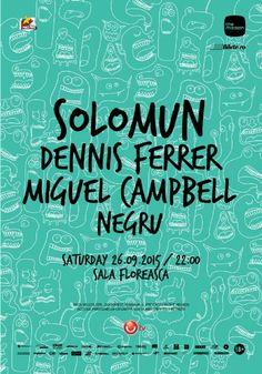 Cumpara bilete la concert The Mission presents Solomun, Dennis Ferrer, Miguel Campbell si Negru - 26 Sept 2015 (Sambata, 26 Septembrie ora