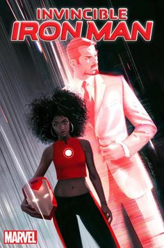 Riri Williams on the new 'Invincible Iron Man' cover. Image: marvel By Yohana UTC There's a new Iron Man in town. Marvel announced that a new character, Riri Williams, will. New Iron Man, Iron Men 1, Iron Man Suit, Tony Stark, Miles Morales, Marvel Comic Books, Comic Book Characters, Avengers Comics, Marvel Films