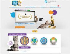 40 красивых сайтов с домашними животными для любителей кошек и собак