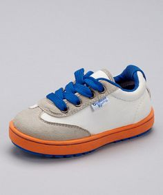 Take a look at the Gray & Blue Kevin Sneaker on #zulily today!