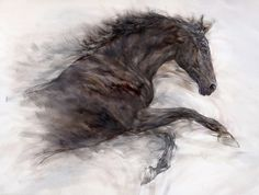 Gary Benfield Fine Art. Love this Artist. He has produced the most amazing equine paintings I have ever seen. I love the power and energy in this picture, it is truly beautiful.