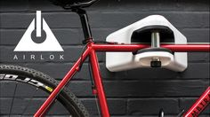 The world's first high security bike storage hanger. Combines ultimate protection and elegant storage for your bike indoors or outside.