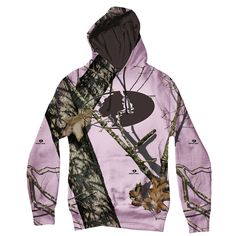 Mossy Oak Pink Break-Up Hoody