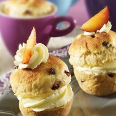 Pflaumen Cupcakes Muffin, Cupcakes, Breakfast, Food, Morning Coffee, Cupcake Cakes, Essen, Muffins, Meals