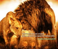 The lion, and the lioness!