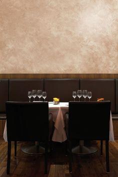 Wow!  Dining – Classic Polished Plaster » Venetian Plaster, Marmorino, Stucco, London, UK - Surfaceform Polished Plaster