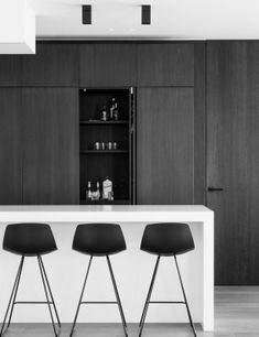 40 Gorgeous Modern Kitchen Design Ideas - HMDCRTNKitchen Bar Ideas - Creating a Space That Fits Your Needs, Anybody that has ever had a bar in their h.