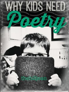 5 reasons why you should read poetry to your children.