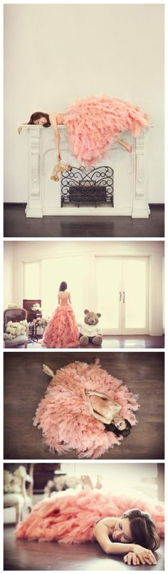 This could possibly be the most adorable wedding dress i have ever seen :)