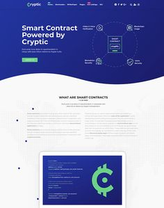 Cryptic - Cryptocurrency WordPress Theme - ModelTheme What Is Smart, Know Your Customer, Chief Financial Officer, Computer Programming, Copywriting, Web Development, Blockchain, Cryptocurrency, Wordpress Theme