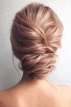 Wedding Hairstyles By Tonyastylist Twisted Low Updo