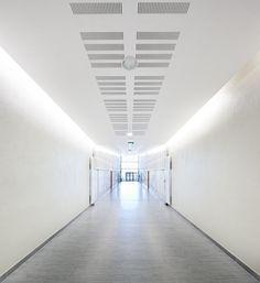 Gymnase Ango, Dieppe, Chabanne et Partenaires Architectes - Ango Gymnasium, Dieppe, Chabanne and Partners Architects, Public Facilities
