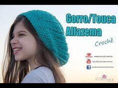 Gorro de Crochê Alfazema - passo a passo - #ProfessoraSimone - YouTube