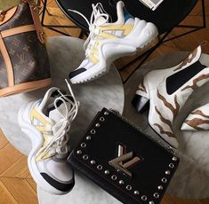 Day to night dressing with #LV . 📸  @christinapaik . . #ThreadsStyling #LouisVuitton