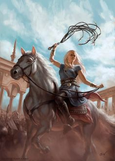 Daenerys, Sara Winters on ArtStation at https://www.artstation.com/artwork/AXJPe