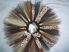 leopard print/animal print tutu by jgriffeth89 on Etsy i wana make one like this for ava.