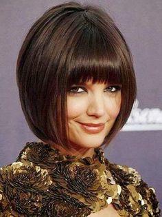 Medium Short Haircut with Bangs 30-Cute-And-Easy-Hai