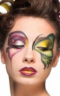 Idee make up farfalla per Carnevale (Foto) | Donna Nanopress
