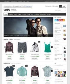 This WordPress ecommerce theme features lots of cool jQuery effects, 7 custom widgets, 8 portfolio templates, social media integration, a WooCommerce ready design, 3 custom post formats, and more.
