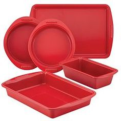 SilverStone 5-pc. Hybrid Ceramic Nonstick Bakeware Set