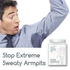 BODY BALANCE PREVENT EXCESSIVE SWEATING PILLS STOP HYPERHIDROSIS NIGHT SWEATS | eBay