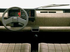 Fiat Panda interior - 1980