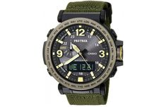 Casio Protrek Watches - Designed for Durability. Casio Protrek - Developed for Toughness Forget technicalities for a while. Let's eye a few of the finest things about the Casio Pro-Trek. Casio Protrek, Casual Watches, Cool Watches, Watches For Men, Wrist Watches, Men's Watches, Pocket Watches, G Shock, Radio Controlled Watches