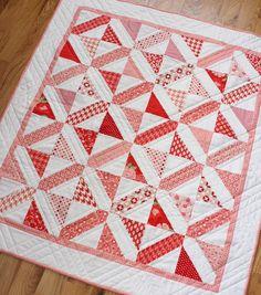 Modern Baby quilt pattern.