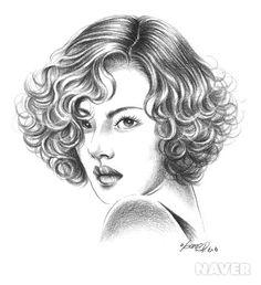Short Bobs, Short Curly Bob, Mid Length Curly Hairstyles, Curly Hair Styles, Layered Curly Hair, Show, Bella, Hair Cuts, Clip Art