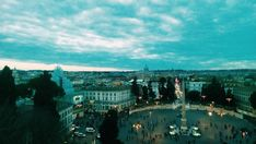 Saturday blues! #Rome #sunset #view #sky #blue #skyporn #italy #instagood #photooftheday #photography #weekend #amazing #instatravel #noidiroma #rome🇮🇹 #panorama #weekend #blog #romantic