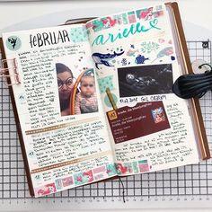 Eine wundervolle Woche in meinem Travelers Notebook. Babysitten, Gil-Ofarim-Konzert und Arielle ♀️ im Kino . . #travelersnotebook #midoritravelersnotebook #travelersjournal #journalspread #travelersfactory #midoricamel #travelersfactory #midori #plannergirl #journaling #washitape #stationaryaddict #travelersnote #plannerlove #travelersnotebookinserts #traveljournal #plannercommunity #travelersnotebookcamel #cameledition #journalingcommunity #journalcommunity