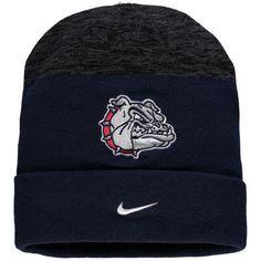 Gonzaga Bulldogs Nike Sideline Cuffed Knit Hat - Navy b3276dc2369f