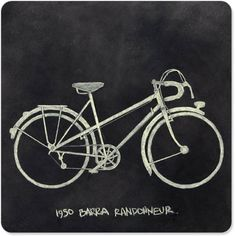 Love this chalkboard bike image