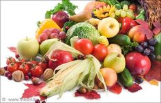 Nordic Diet Food: Fruits and Vegetables