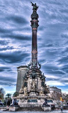 Colomb statue Barcelona