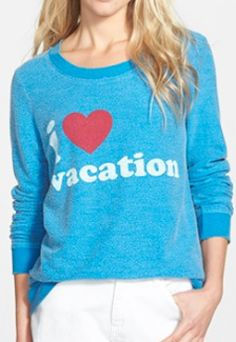 Cute vacation sweater
