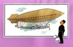 """Ballon 36 : Dirigeable """"Ville de Paris"""""""