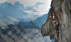 hike/climb- bugaboos- canadian rockies-  Mt. Nimbus via ferrata (the most extensive via ferrata route in North America which incorporates fixed cables and ladders, suspension bridge...
